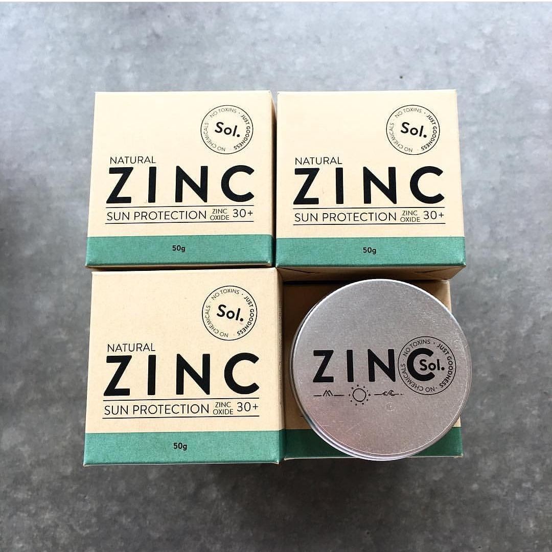 Sol Zinc Packaging